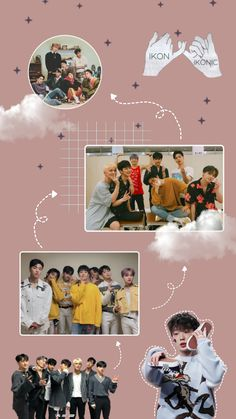 Discover recipes, home ideas, style inspiration and other ideas to try. Bible Verse Wallpaper, Wallpaper Quotes, Wallpaper Backgrounds, Ikon Kpop, Chanwoo Ikon, Kim Hanbin, Pink Wallpaper Android, Gold Wallpaper, Ikon Member