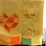 Geo Heart Tea Towels