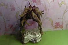 Hey, I found this really awesome Etsy listing at https://www.etsy.com/listing/491456652/the-miniature-weeping-faerie-bed
