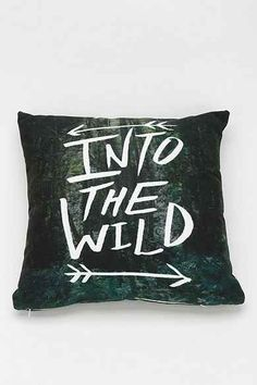 Leah Flores For DENY Into The Wild Pillow