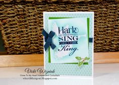 CTMH Hark the Herald Angels Sing card from Wizard's Hangout