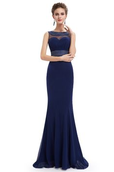 Ever-Pretty is the place to find hundreds of beautiful gowns and affordable dresses in unique and fashion-forward styles. We are known for our beautiful bridesmaid dresses, evening dresses, cocktail dresses. Beautiful Gowns, Beautiful Outfits, Beautiful Clothes, Mermaid Style Prom Dresses, Nice Dresses, Formal Dresses, Amazing Dresses, Ball Dresses, Formal Wear