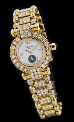 Chopard Yellow Gold IMPERIALE Diamond Watch 39/3212-23 $36,990 #Chopard #watch…