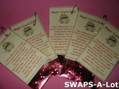 Mini Magic Cupid Dust SWAPS Kit for Girl Kids Scout makes 25