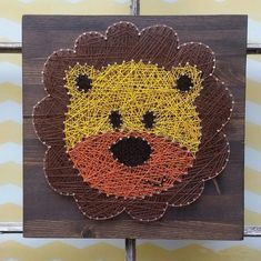 Chaîne Art Lion, Lion Nursery décor, chambre d