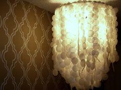 Lampadario Di Carta Velina : Lampadario fai da te con carta velina: a carnevale il lampadario