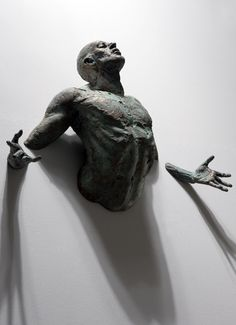 """Emerge""......Scary! I would probably be startled by this everyday if I had it in my house."