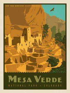 Anderson Design Group – American National Parks – Mesa Verde National Park