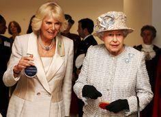 Camilla Parker Bowles Photos: Queen Elizabeth II Visits the Barnardo's New HQ