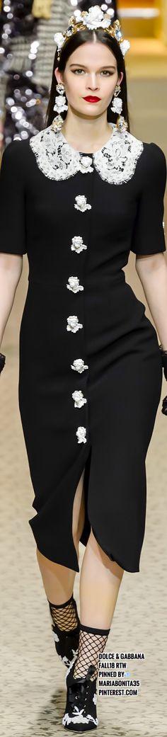 Dolce & Gabbana Fall18 RTW