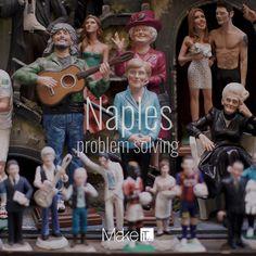 MakeItNow Naples #naples #napoli #italy #italia #lovethis #viaggi #sangregorioarmeno #presepe #waitingforchristmas #colours #problemsolving