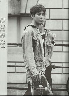 Chanyeol - EXO Photobook 'DIE JUNGS'.