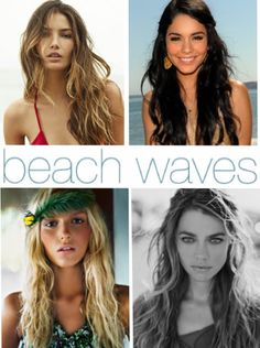 Primp & Wear: Hairstyle Tutorial: Beach Waves