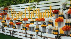 Veuve Clicquot Polo Classic Backdrop ~ #decor #ideas #champagne