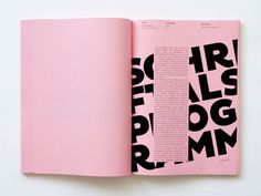 Editorial / typografie standard by Tony Ziebetzki