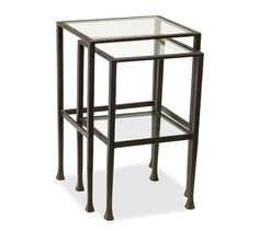 Tanner Nesting Side Tables | Pottery Barn - $299 (less 20% is $239.20) - for small seating area