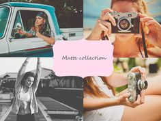 Matte collection by MilicaPasic on @creativemarket