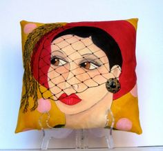 Priscilla Mae et al: Follow The Eyes On The New Clare Pillows