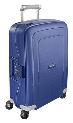 S'Cure Dark Blue 69cm #Samsonite #SCure #Travel #Suitcase #Luggage #Strong #Lightweight #MySamsonite #ByYourSide