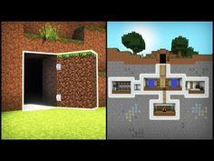 Minecraft: How to Build a Secret Base Tutorial ( - . - Minecraft: How to Build a Secret Base Tutorial ( – - Secrets Minecraft, Video Minecraft, Minecraft Redstone, Easy Minecraft Houses, Minecraft Plans, Minecraft House Designs, Amazing Minecraft, Minecraft Tutorial, Minecraft Blueprints