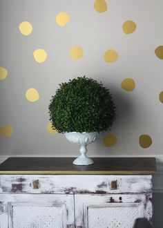 """Handpainted"" Dots Preppy Pattern Wall Decals - Southern Nest"