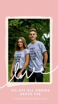 When a guy and a girl are wearing t-shirts with a unique print, then its not just beautiful and original. ... It is immediately evident that before us - a couple in love, which has a serious… More