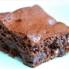 Best Chocolate Brownie Ever - Gluten Free on BigOven: This is a recipe that I have adapted to be gluten free.  All the non Coeliacs in my household have said that it is the most divine chocolate brownie that they have ever based.