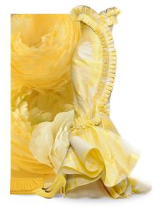 """""""Yellow Bouquet"""" by beet-1 ❤ liked on Polyvore"""