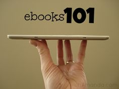 ebooks 101. Do you have a book in you?