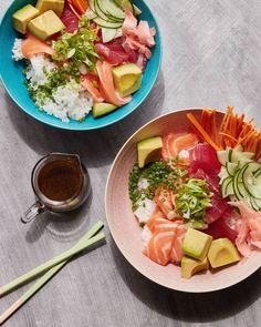Sushi Bowls/ www.whatsgabycooking.com