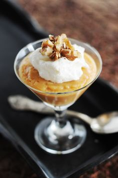 pumpkin pudding might have to be my contribution to Thanksgiving this year!