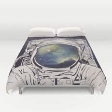 Dreaming Of Space Duvet Cover