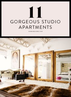 Amazing studio apartments