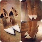 Solitaire Platform Pump - White Patent in Shoes Jeffrey Campbell