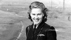 Joy Lofthouse, one of the Air Transport Auxiliary pilots for the RAF in WWII. The ATA was the UK equivalent of the WASPs, ferrying planes to the forward bases and performing often-dangerous flying feats.