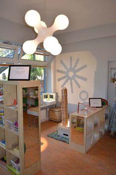 kita berlin drachenhöhle-innendesign offene regale-bad | kita, Schlafzimmer design