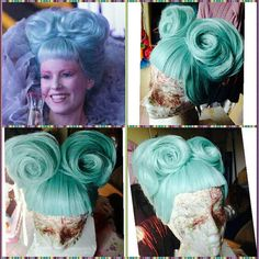 Effie Trinket cosplay wig preorder hunger games by MadCosplay