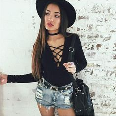 Sexy Women Front Bandage Sexy Blouse Jumpers Casual Long Sleeve Slim Grey Sweater Top Autumn