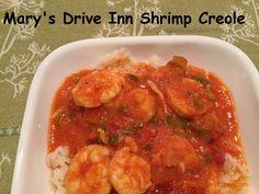 SHRIMP CREOLE BY MARY'S DRIVE INN Old Biloxi Recipes 2 cookbook page 159 Recipe: https://www.facebook.com/notes/old-biloxi-recipes-by-sonya-fountain-miller/marys-drive-inn-shrimp-creole-submitted-by-tina-leonard/10153061577303914