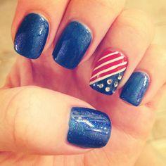 patriotic nails | Patriotic nails | Nail obsession