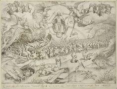 Pieter Bruegel d. All World Map, Pieter Bruegel The Elder, Seven Deadly Sins, Illuminated Manuscript, Surreal Art, Surrealism, Evolution, Vintage World Maps, Weird