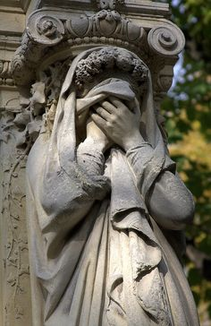 Père Lachaise Cemetery Such grief carved on stone... To be loved by someone enough for them to memorialize their feeling of loss