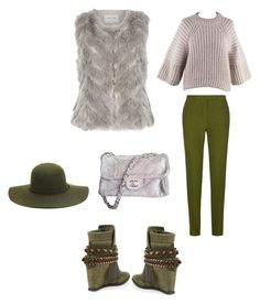 """Cosmina"" by cosmina79 on Polyvore featuring Ivy Kirzhner, Balenciaga, Elie Saab, River Island and Chanel"