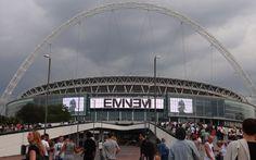 EMINEM in London. Yo!
