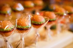 very cool burger bash party - these hamburger cake pops are too cute.