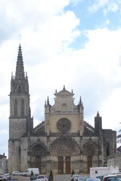 Cathédrale Saint-Jean-Baptiste de Bazas - France. Majestic and awe inspiring Cathedrals for the glory of God throughout the earth. http://www.PaulFDavis.com/spiritual-teacher for God's glory, honor, power, love and wisdom to work miracles, signs and wonders in the earth. (info@PaulFDavis.com) author of 'Supernatural Fire', 'Waves of God,' 'God vs. Religion,' and 'Breakthrough For A Broken Heart.' www.Facebook.com/speakers4inspiration www.Twitter.com/PaulFDavis…