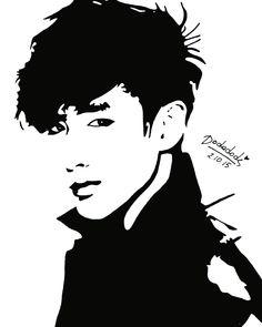 No Min Woo ))) ☺️ 동생~이  #Boyfriend #NoMinWoo #MinWoo #민우 #MinWooBoyfriend #art…