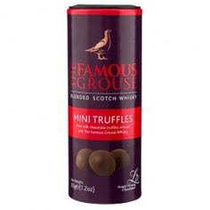 Famous Grouse flavour truffles, in this lovely gifting tube.