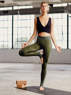 Sunrise Stirrup Legging | Crafted from our luxe Be Free Blend, these leggings are perfect for any workout session. Two-way stretch and ideal coverage offer added comfort and easy range of motion. Featuring stirrup cutouts at the heel and banded waistband for an effortless fit. Exposed seaming.