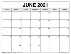 June 2021 Calendar June Calendar Printable, June 2019 Calendar, Excel Calendar, Printable Calendar Template, Monthly Calendars, Free Calendars To Print, Kim Jinhwan, Calendar Design, Printables